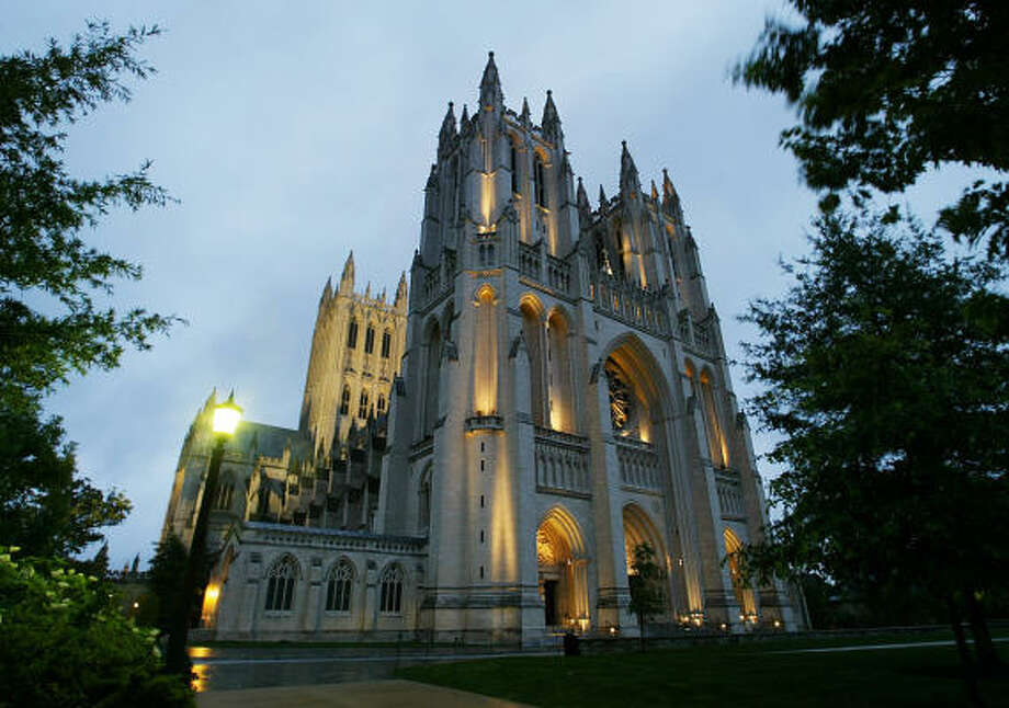 Washington National Cathedral Photo: ASSOCIATED PRESS FILE