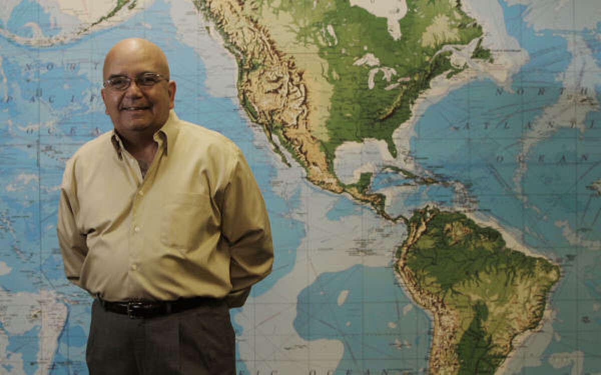 Ricardo Peduzzi, en su oficina, en Spring.