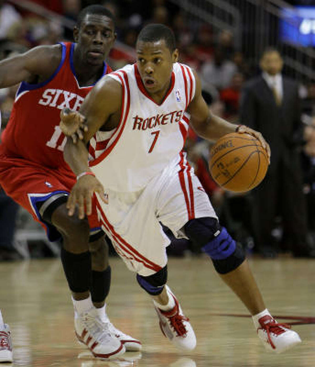 Rockets guard Kyle Lowry averaged 9.1 points and 4.5 assists last season.