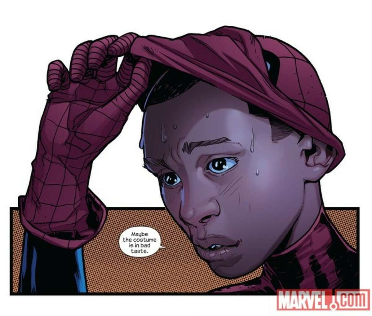 Miles Morales, the new Ultimate Spider-Man.