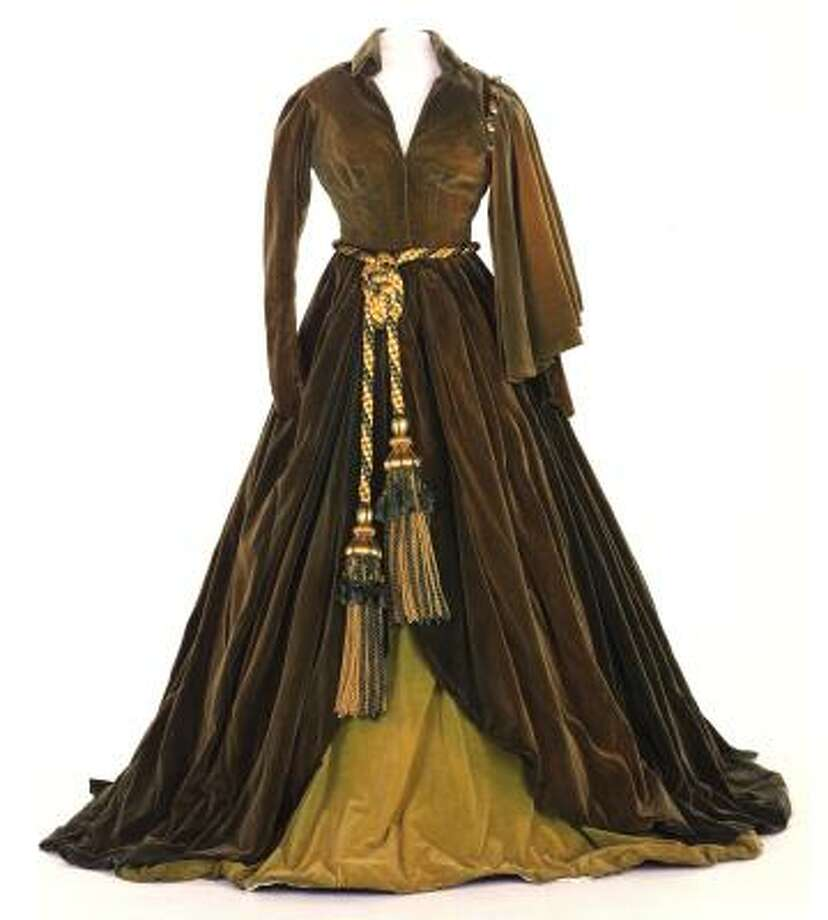 A gown from Gone With the Wind Photo: Harry Ransom Center