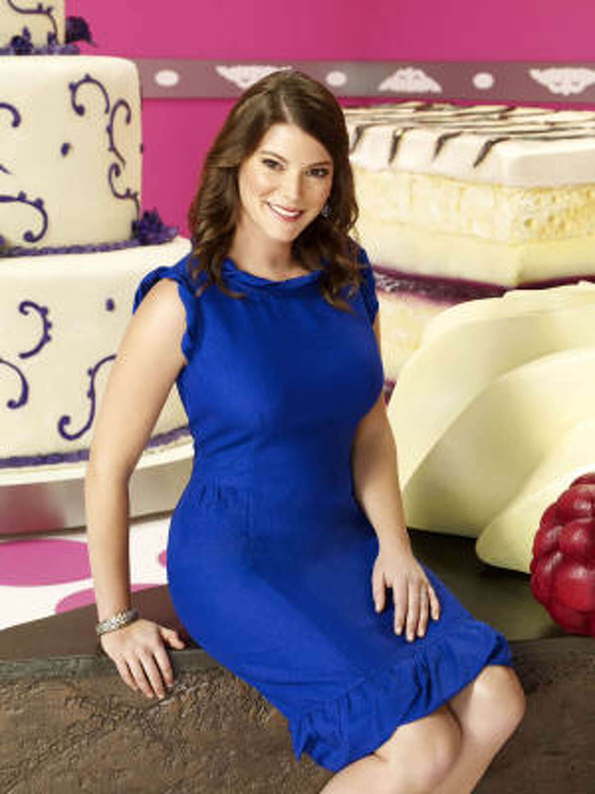 Gail Simmons, host of Top Chef Just Desserts