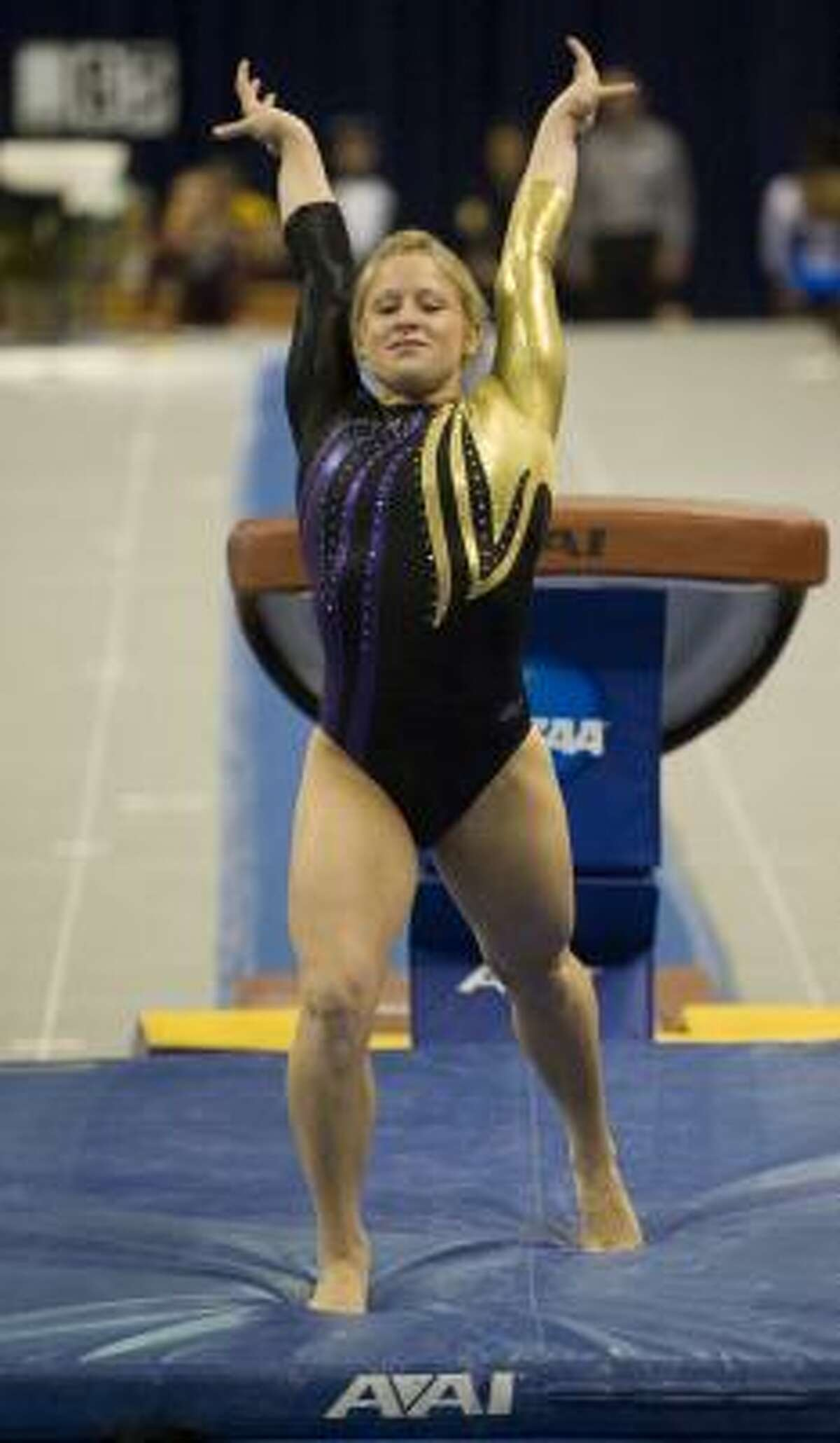 Klein product Susan Jackson is LSU's second winner of the SEC's female athlete of the year award.