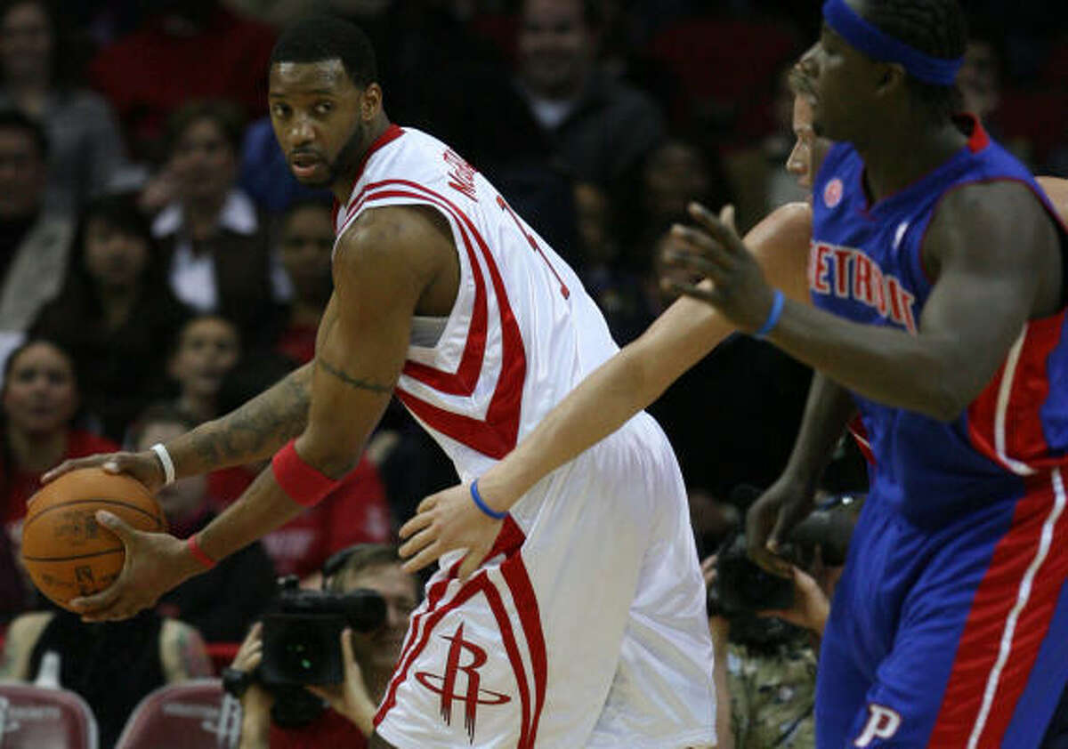 Tracy McGrady, who has played 46 minutes this season, finished fourth among West Conference guards.