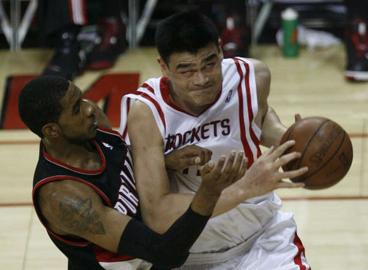 The Rockets may need another big man to assist Yao Ming.