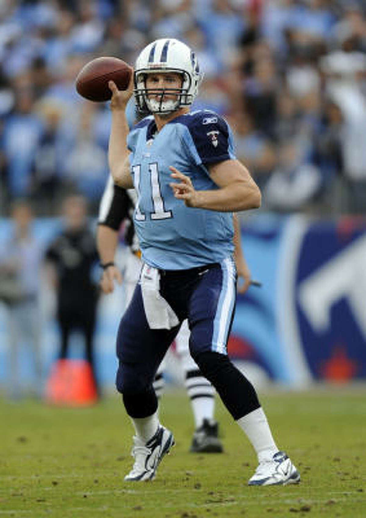 Could Rusty Smith become the latest quarterback to embarrass the Texans' defense?