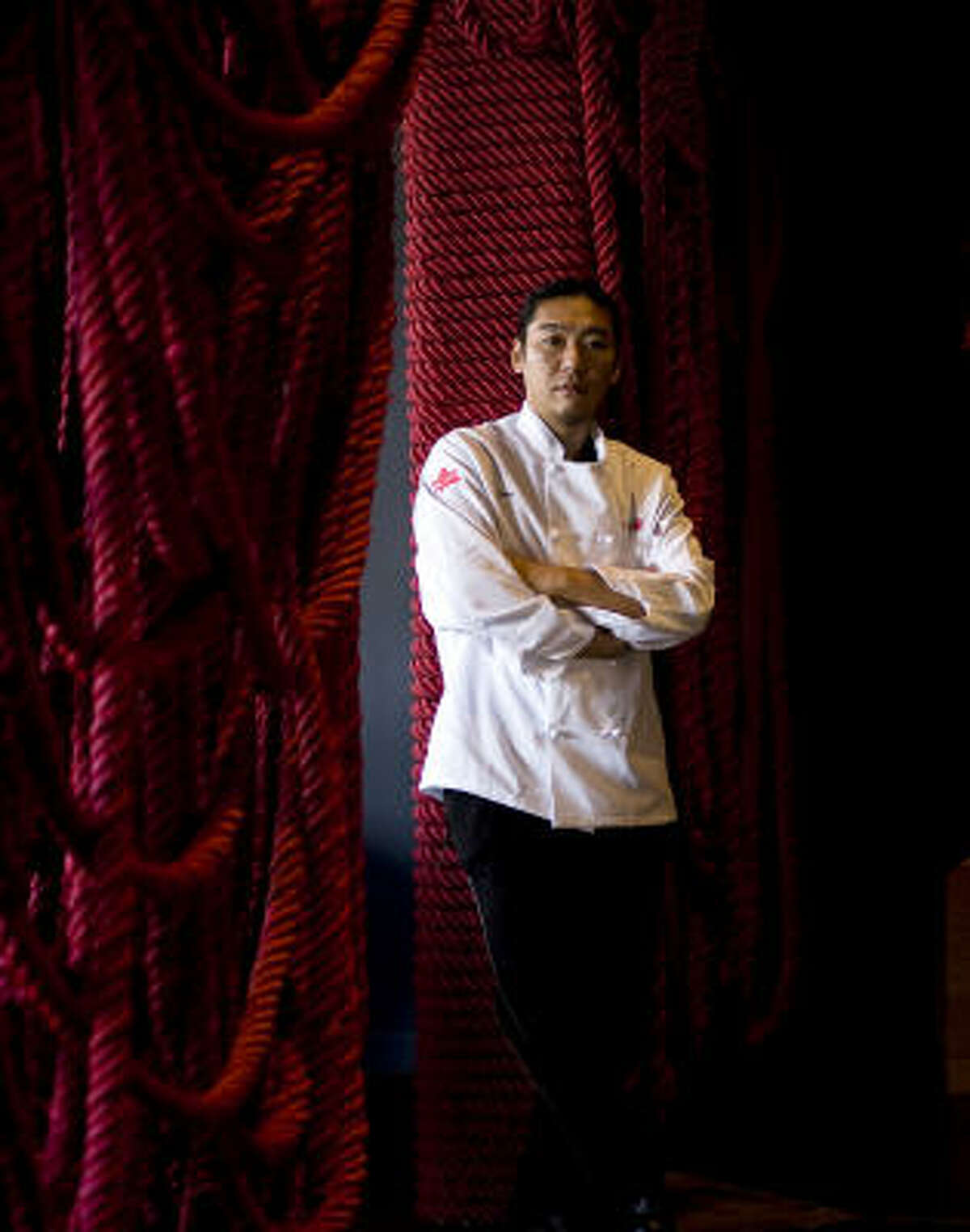 Chef Taka Sekiguchi hopes to rope in foodies with Sushi Raku's inventive menu.