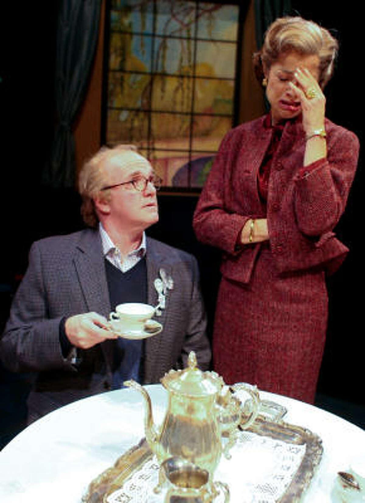 James Black plays Jeffrey and Josie de Guzman is Mrs. Mannerly.