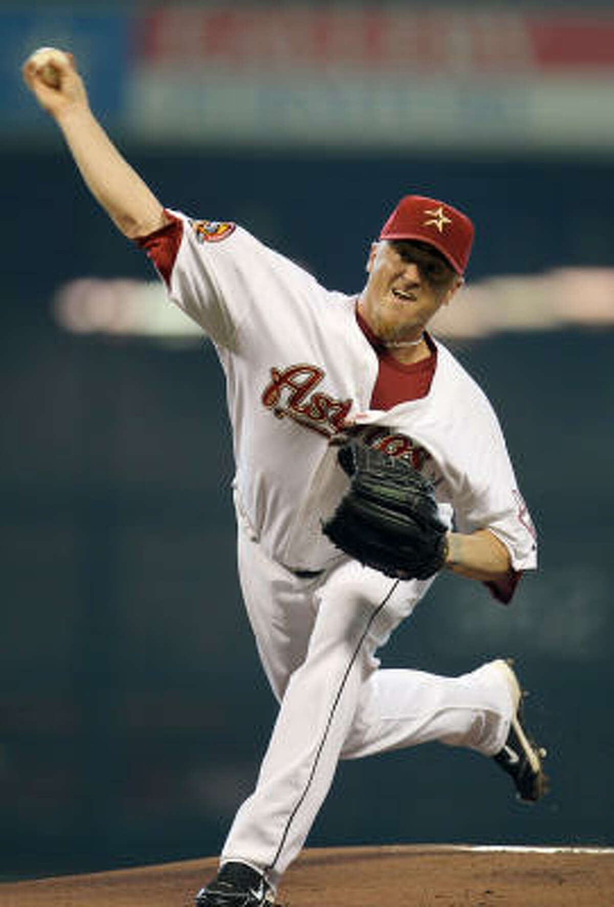 Astros starter Brett Myers outlasted Jeff Suppan, his Cardinals counterpart.
