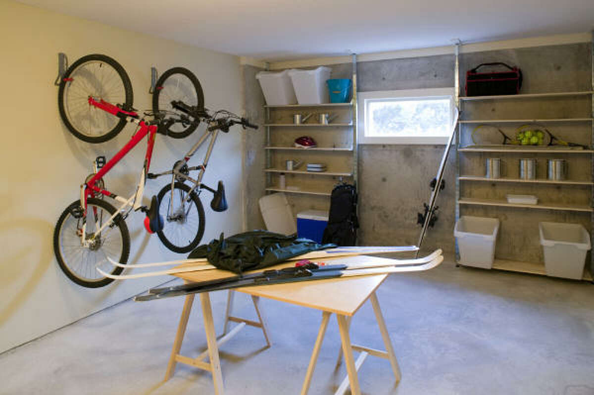 CREATING SPACE: Once items are sorted into categories it makes it easier to decide what stays and what goes. Getting rid of the items you don't need is an important part of this process.