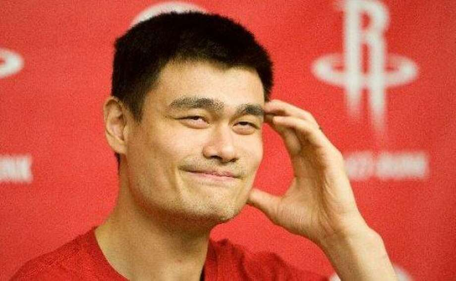Yao has until the end of this month to opt out of the final season of his contract. Photo: Nick De La Torre, Chronicle