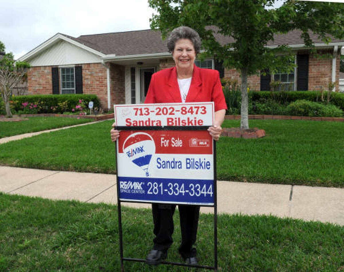 KIM CHRISTENSEN: FOR THE CHRONICLE STRONG MARKET: Realtor Sandra Bilskie said she's seen a surge in first-time buyers in Wedgewood Village, which is in Friendswood.