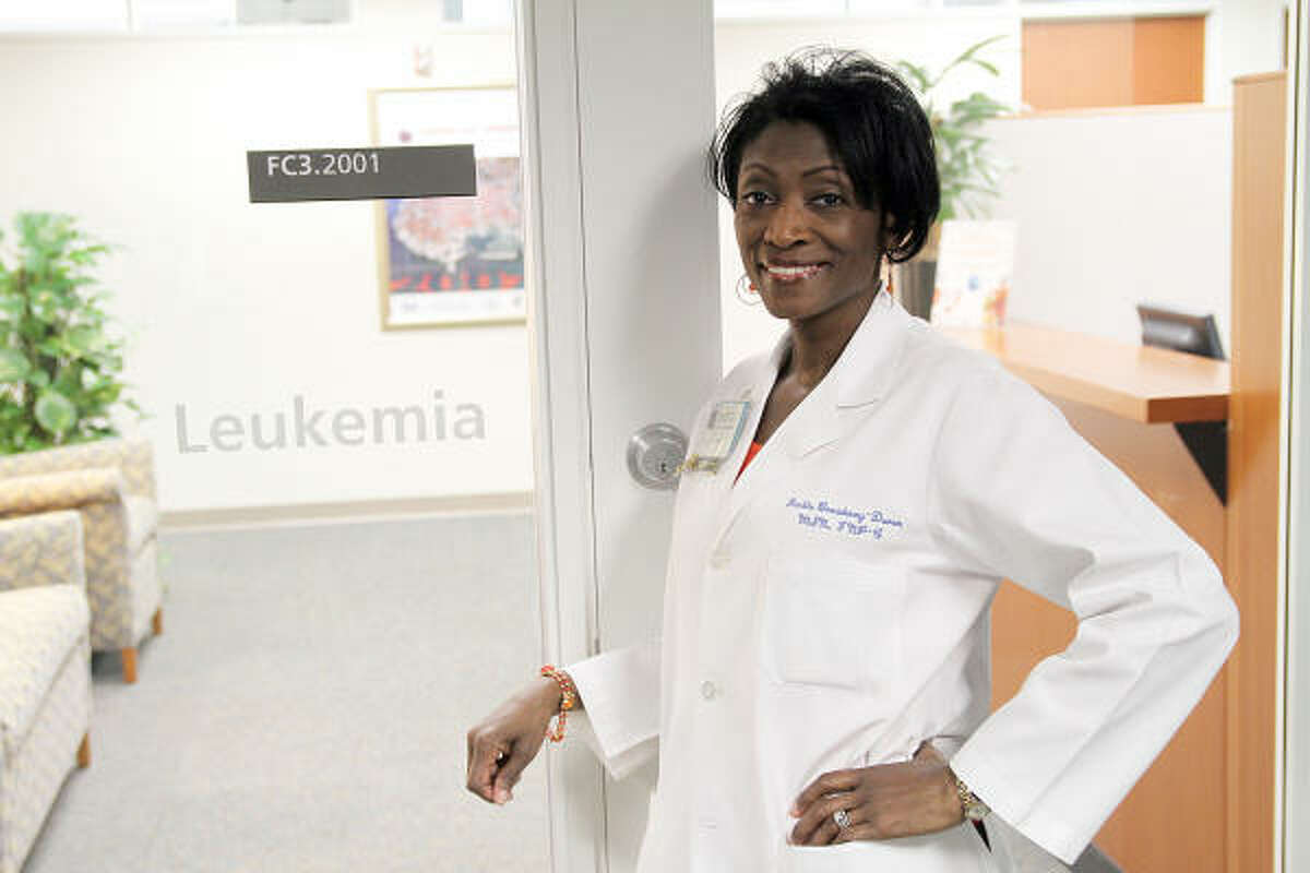 NURSE NOMINEE: Jackie Broadway, nurse oncologist and Extraordinary Healer Award finalist, poses for a photo at her workplace.