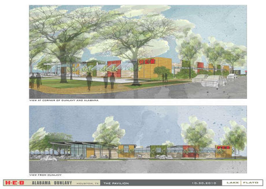 Pavilion proposal.