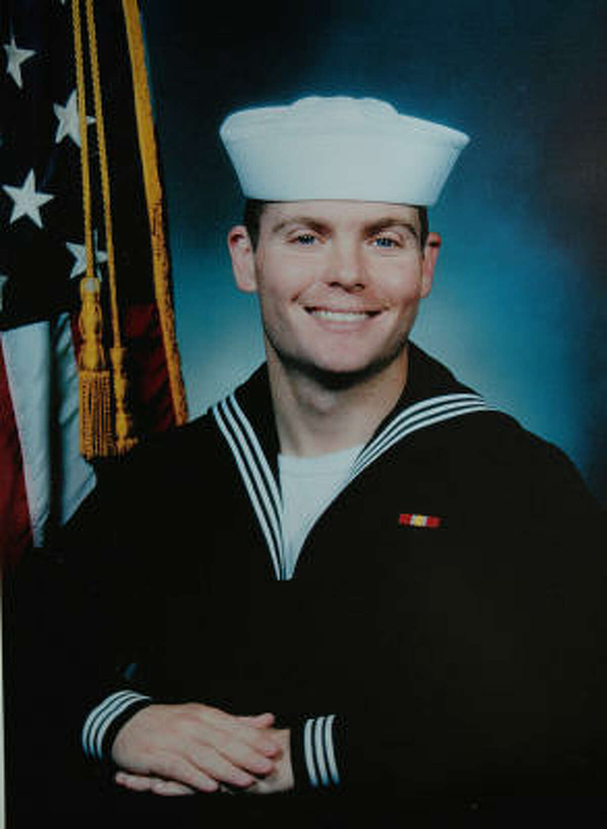 VOLUNTEER: Petty Officer Zarian Wood died Sunday of wounds suffered in Afghanistan.