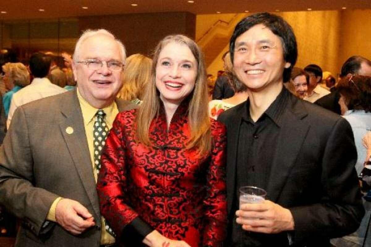 Ben Stevenson, from left, Janie Parker and Li Cunxin