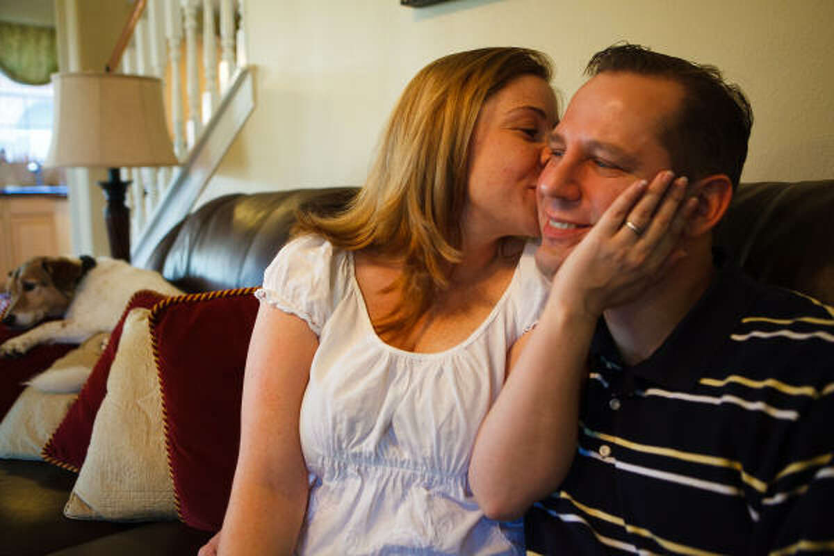 Amanda and Bruce Orr met when she was 17 and he was 25, but they didn't go on their first date until two years later.