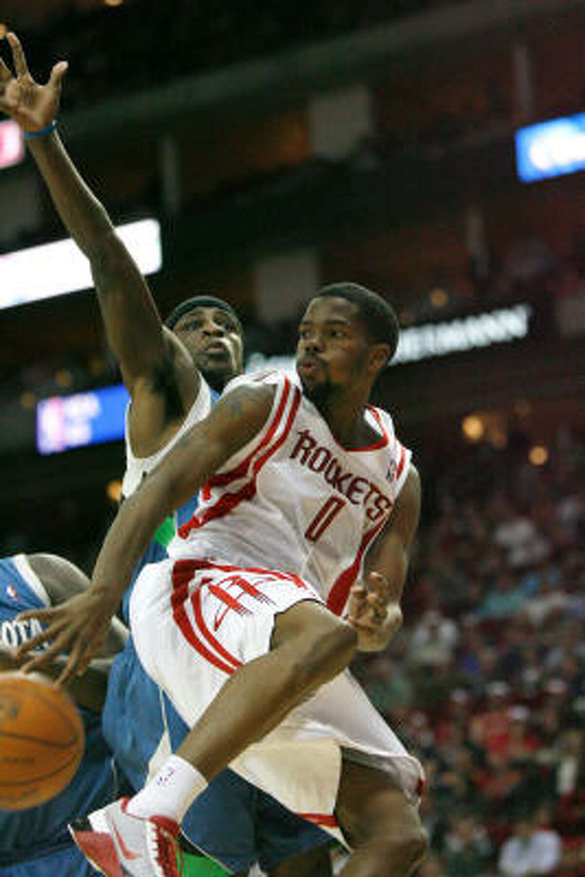 In a crowded Western Conference, Aaron Brooks and the Rockets often root for Eastern Conference teams.