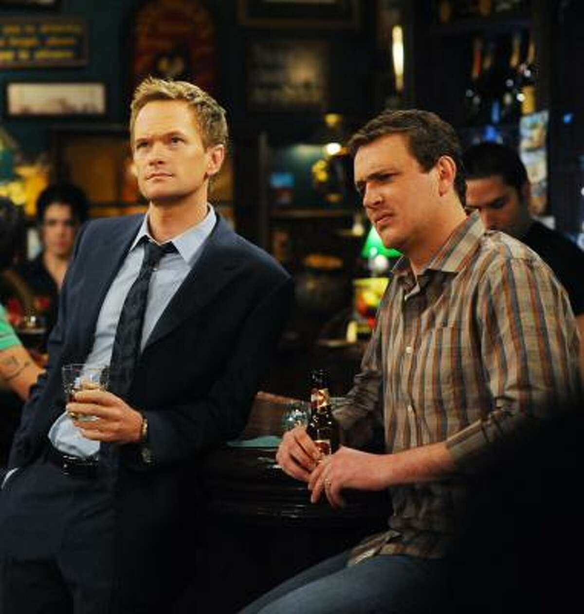 Episodes of How I Met Your Mother, starring Neil Patrick Harris, left, and Jason Segel, can be found on the show's official Web site.