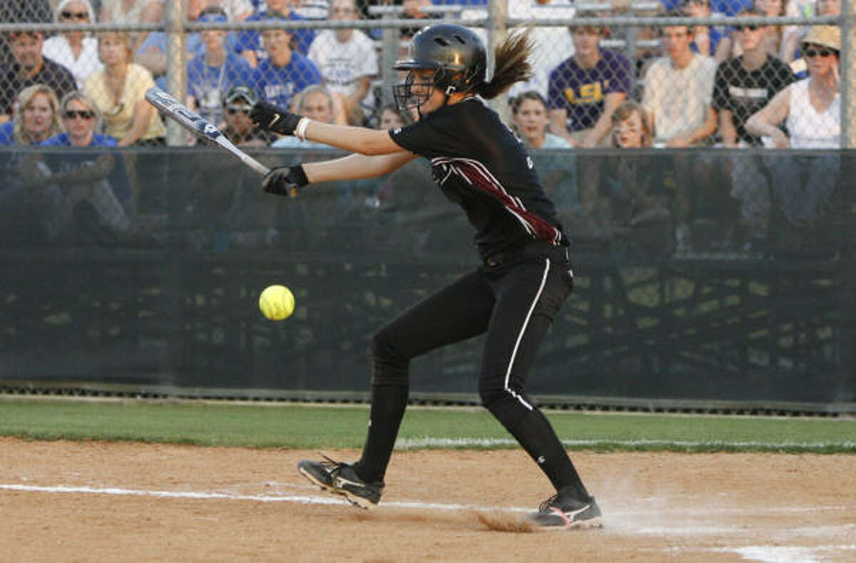 Pearland's lenghty postseason run has been due in large part to the Oilers' dedication to small ball.