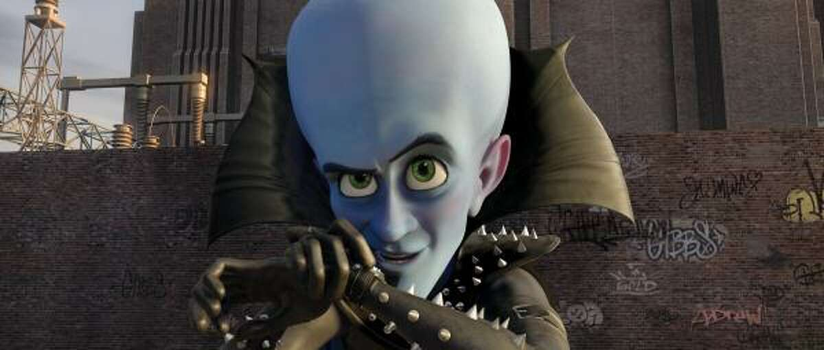 The family comedy Megamind featuring Will Ferrell as the voice of a super villain, made just more than $30 million in its second week in theaters, according to Sunday studio estimates.