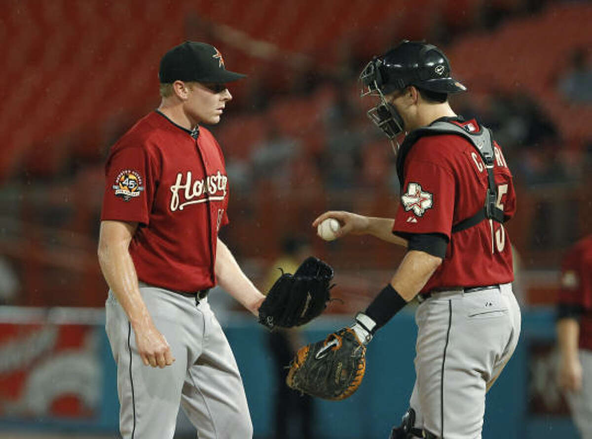 Mark Melancon, who joined the Astros in July as part of the Lance Berkman trade to the Yankees, missed the 2007 season after undergoing Tommy John surgery in 2006.