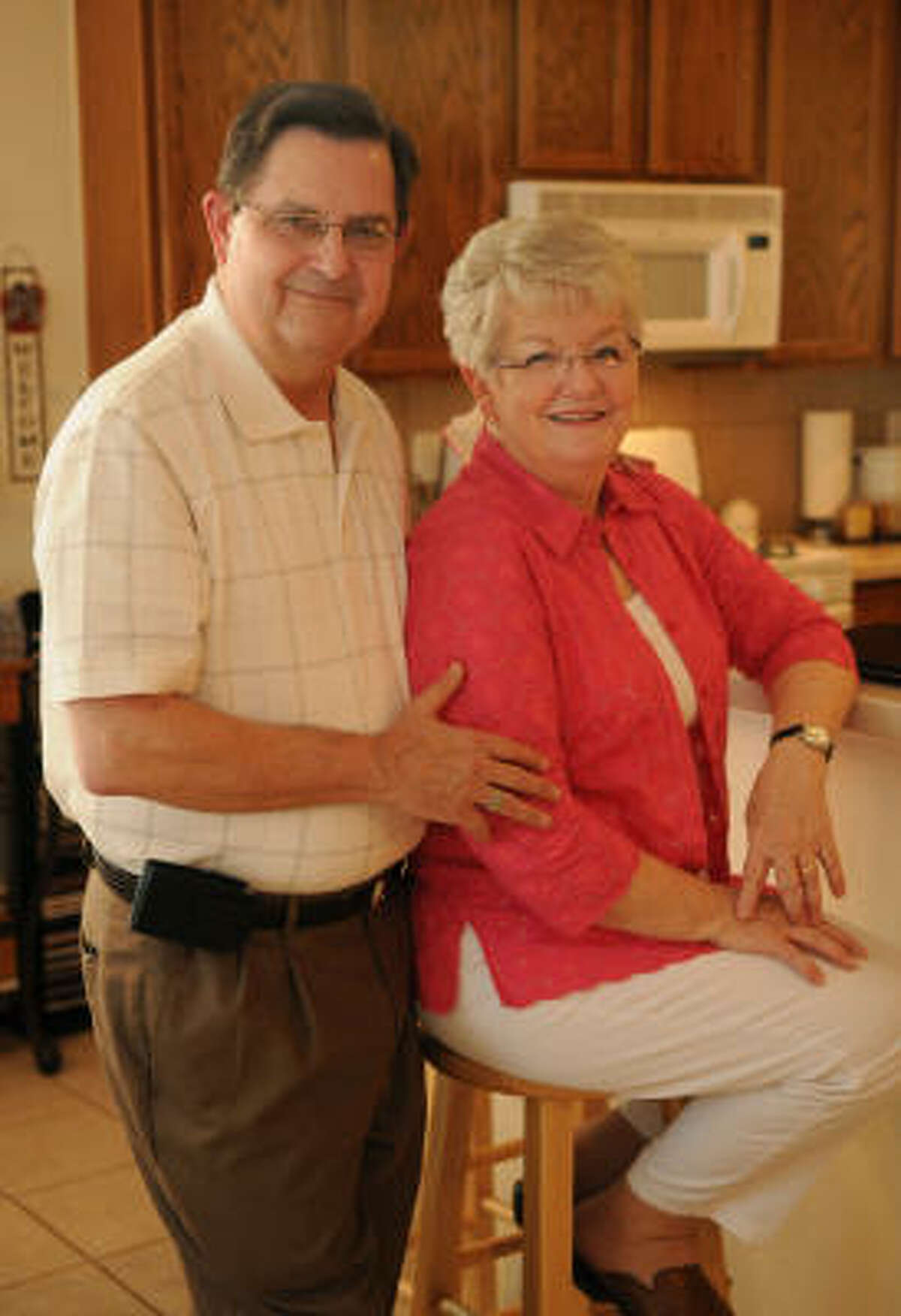 James Eby and his wife, Peggy, of Conroe, turned to a health care sharing ministry to pay the $25,000 bill for her heart surgery last year instead of using an insurance company.