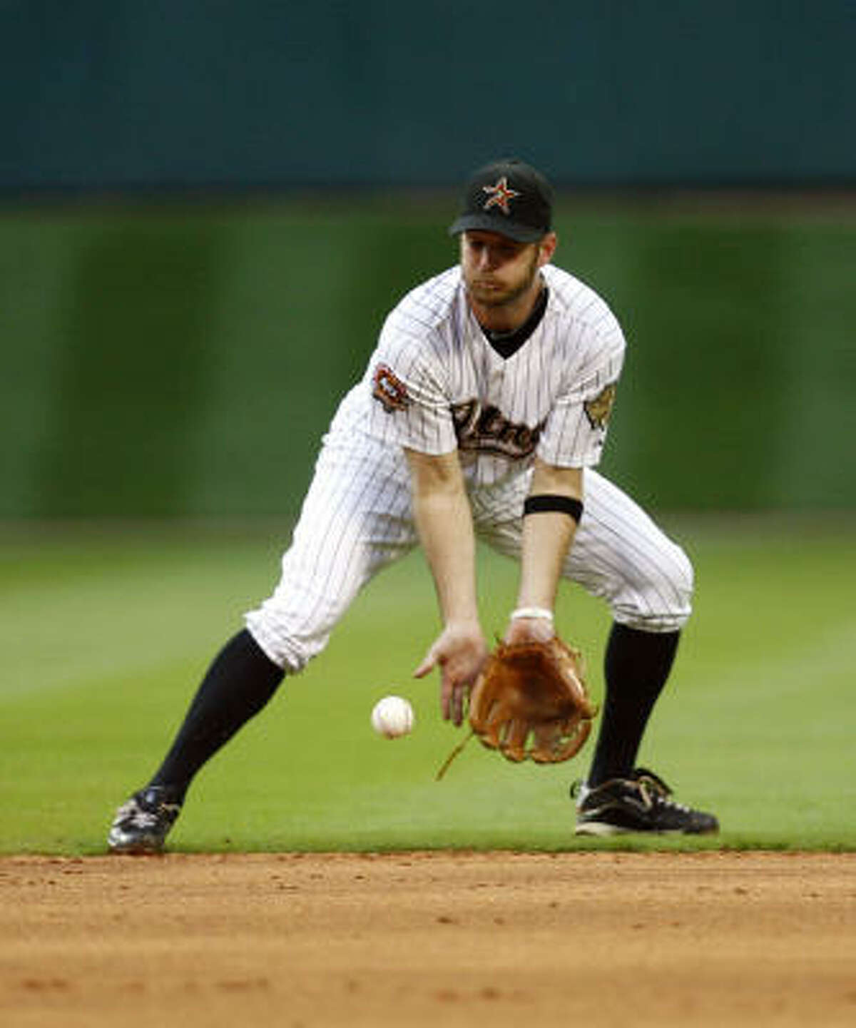 Jeff Keppinger entered the season battling for playing time because Kaz Matsui was the starting second baseman.
