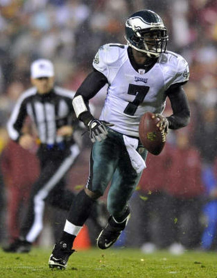 Eagles quarterback Michael Vick has thrown 11 touchdown passes and no interceptions. Photo: Gail Burton, AP