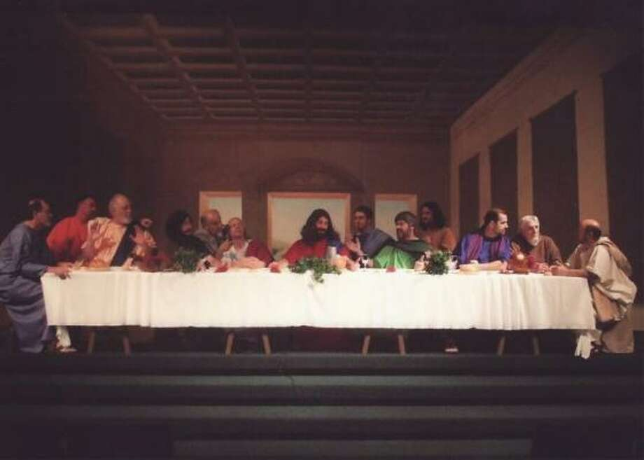 Last Supper?Some people believe that 13 was considered an unlucky number because Judas was the 13th guest at the Last Supper, but there is little evidence to support that. Photo: Community Christian Church