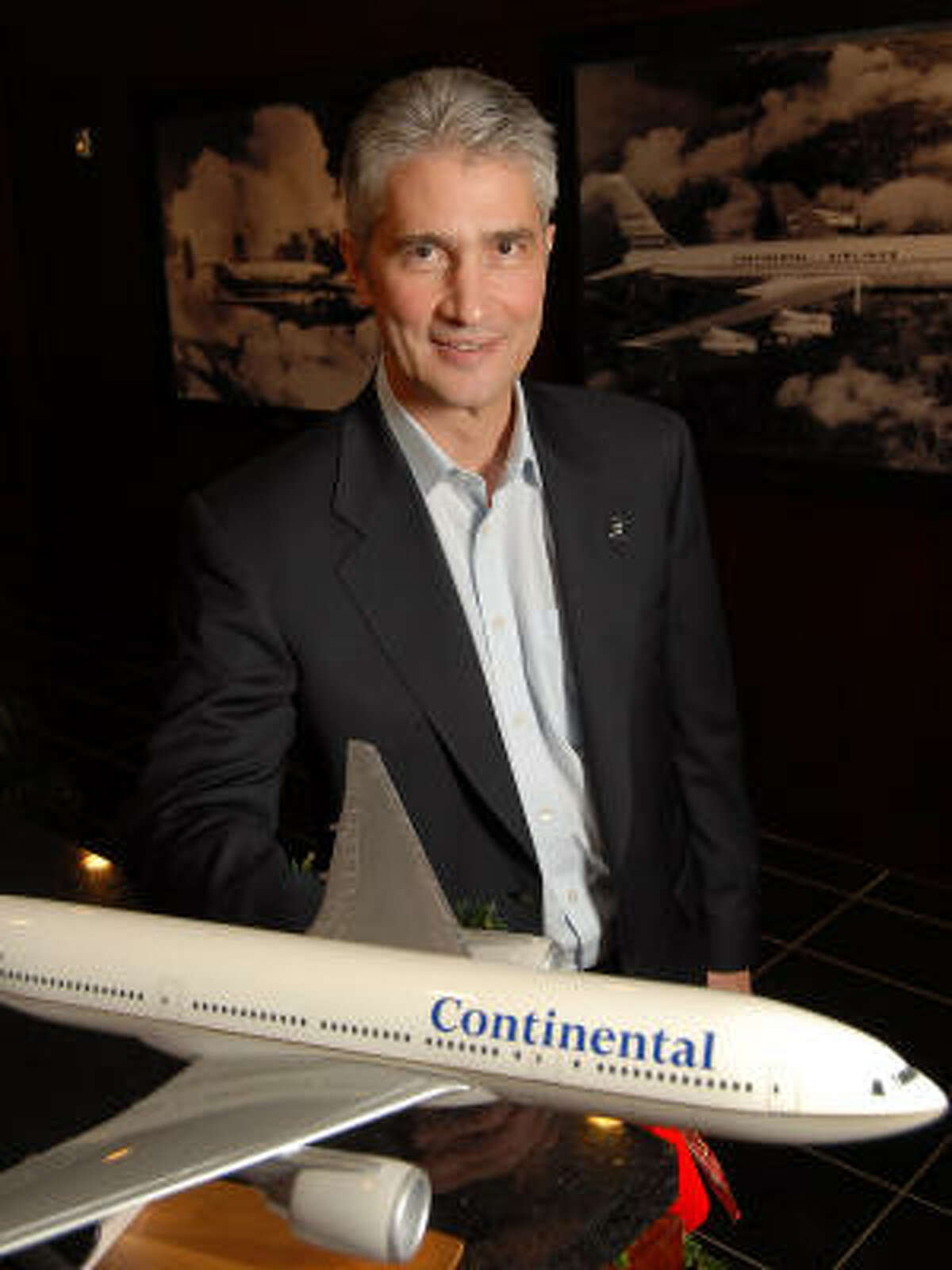 Jeff Smisek has been running Continental for just four months.