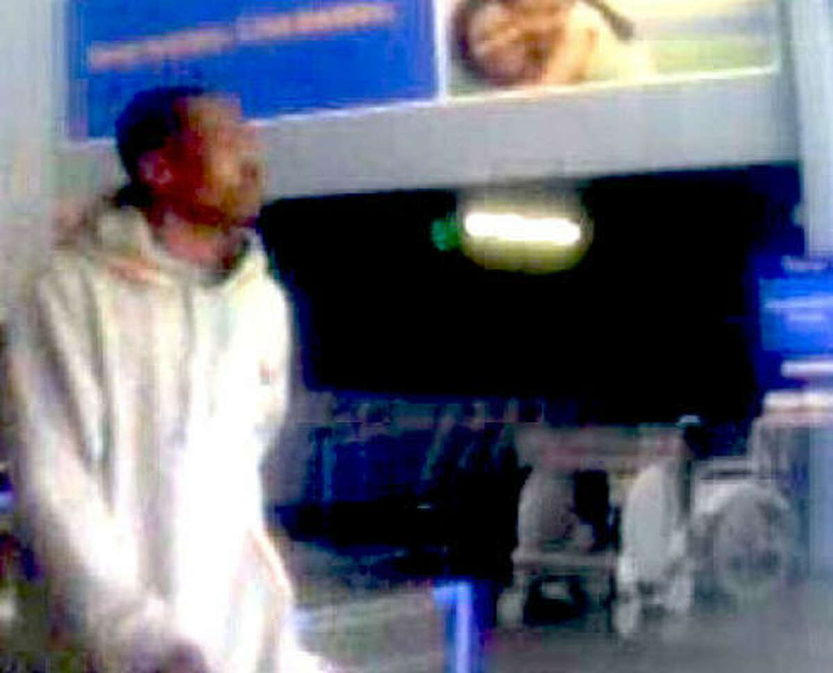 Police say this suspect used a stolen credit card at stores along FM 1960.
