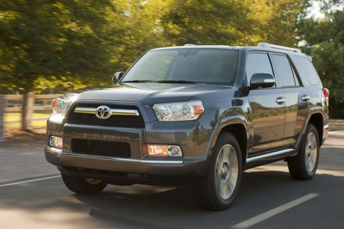 Toyota's 2010 4Runner's starting price is $27,500. The base model's estimated city/highway miles per gallon is 17/23.