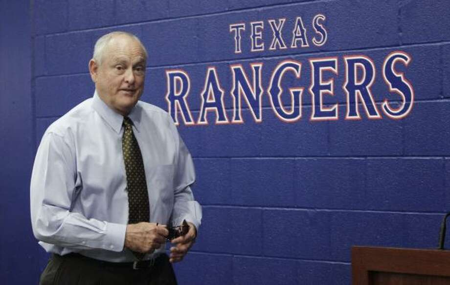 Nolan Ryan winning the bid for the Rangers should keep the team on Fox Sports Southwest, at least for a few more seasons. Photo: LM Otero, AP