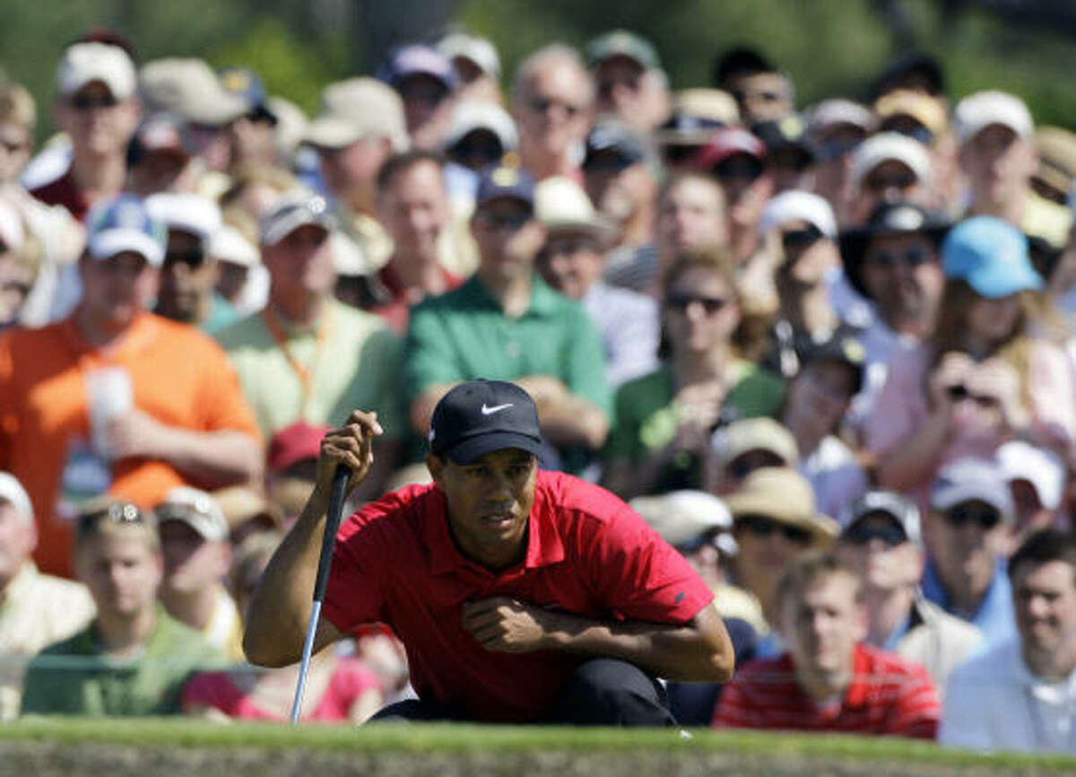 As usual, all eyes will be on Tiger Woods at the Masters, though for more reasons than in years past.