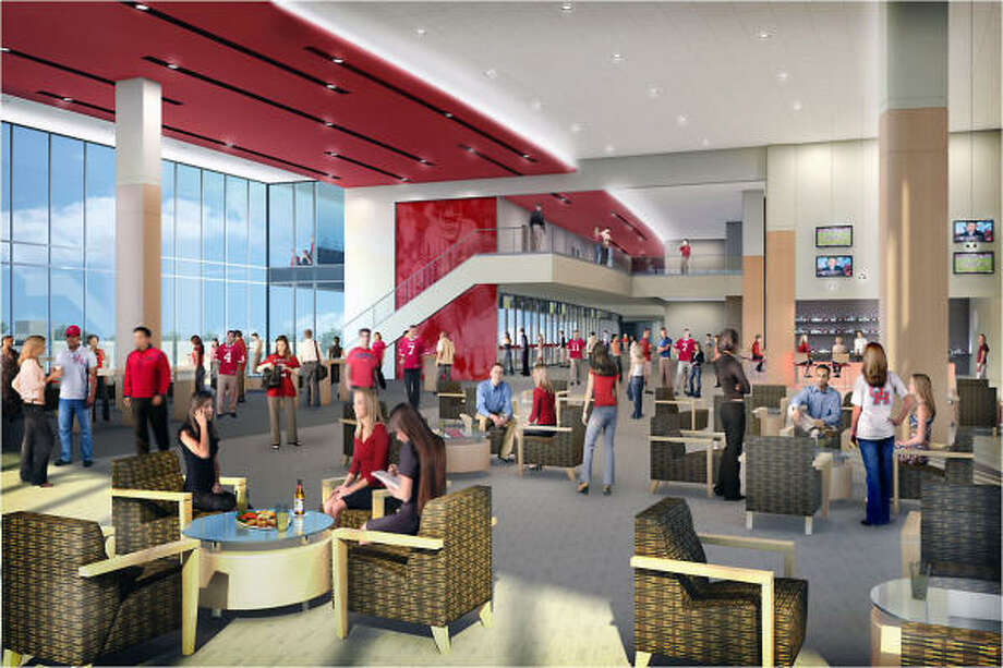 The new Stadium Club area. Photo: UH