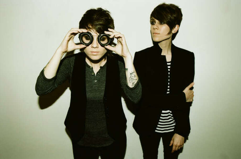 Tegan and Sara will play Warehouse Live on Friday.  Photo: Pamela Littky