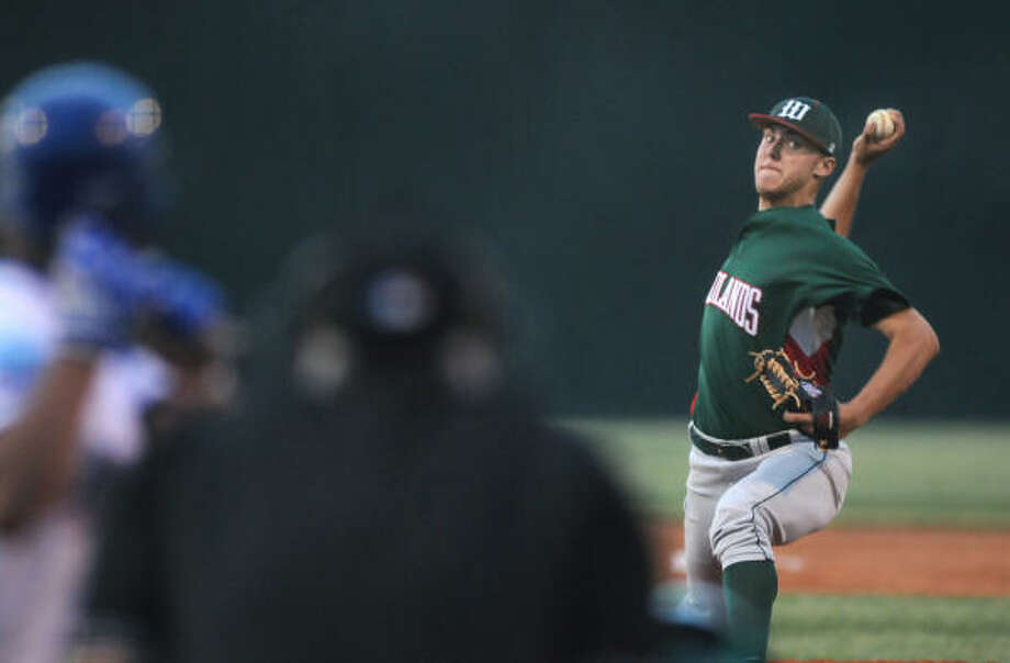 The Pirates selected Jameson Taillon, who pitched for The Woodlands, with the second pick of the draft. Photo: Chronicle File Photo