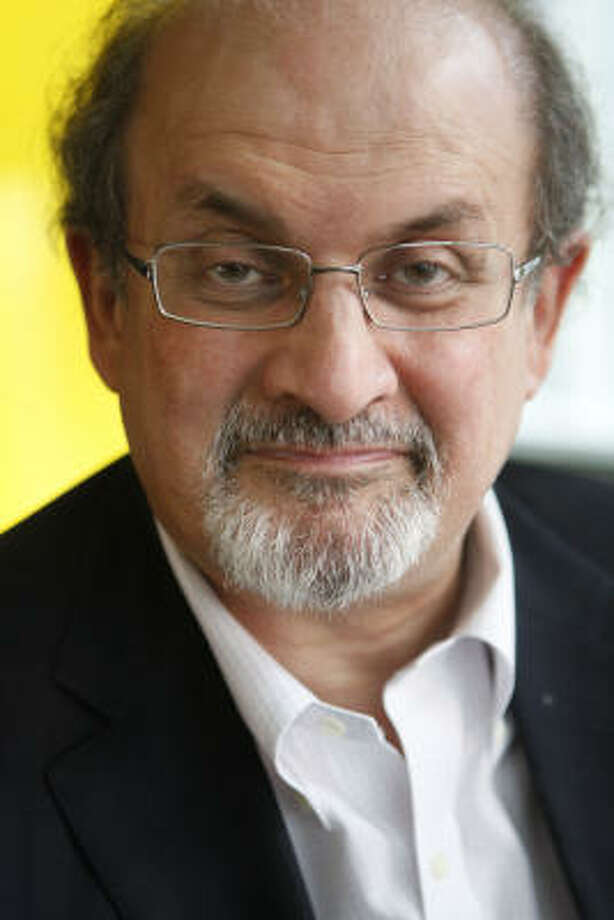 Author Salman Rushdie says a few companies have approached him about turning his latest book, Luka and the Fire of Life, into a video game. Photo: ANDREW HARRER :, BLOOMBERG NEWS