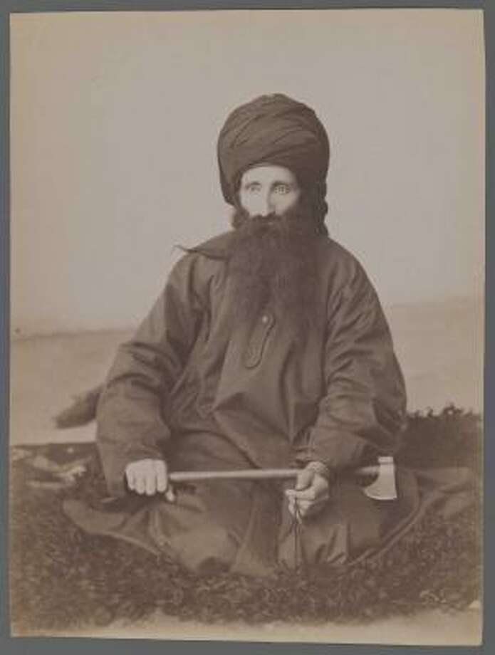 Portrait of a Dervish, attributed to Antoin Sevruguin Photo: Brooklyn Museum