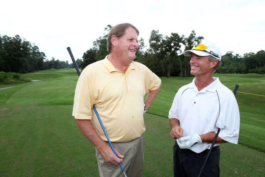Bill Pelham and Jeb Stuart Stuart have been competing against each other for several years. Photo: Billy Smith II, Chronicle