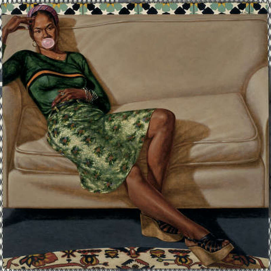 SWEET THANG (LYNN JENKINS): 1975-1976, oil on linen canvas Photo: Courtesy Of The Artist