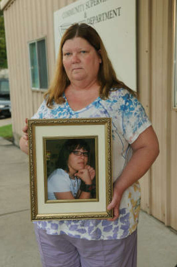 Valoree Lalime lost her daughter Nicole Lynn Lalime, 13, in 2008 when an impaired driver ran over her as she exited her school bus in northwest Houston. Photo: Jerry Baker, Chronicle