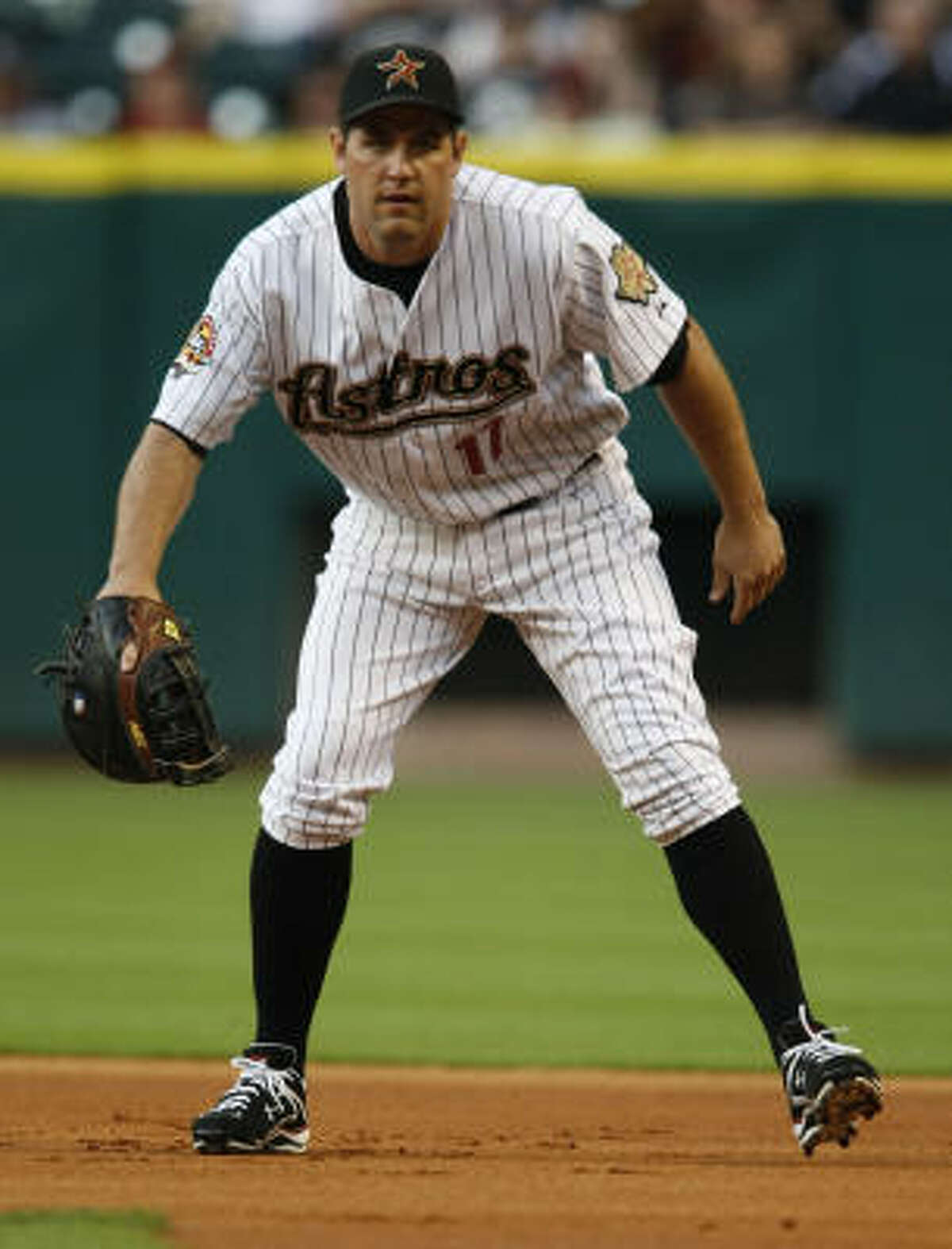 Lance Berkman is in the final year of his contract, with the Astros holding a $15 million option for 2011.