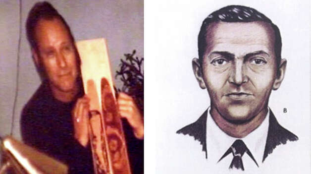 Lynn Doyle Cooper, left, and an FBI sketch of D.B. Cooper. (AP/seattlepi.com file)