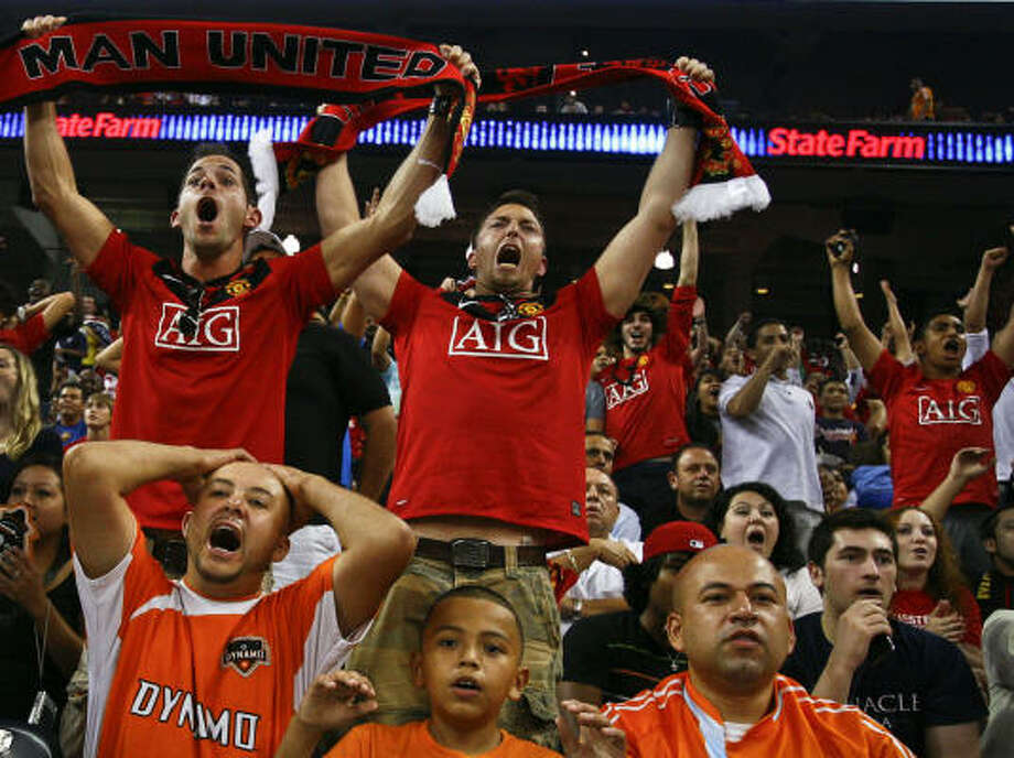 This year's MLS All-Star Game at Reliant Stadium showed the city's appetite for soccer. Photo: Michael Paulsen, Chronicle