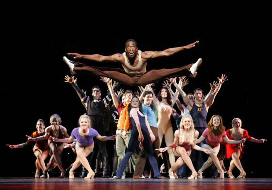 Broadway Across America-Houston's revival of A Chorus Line plays through Jan. 17 at Hobby Center. Photo: Paul Kolnik