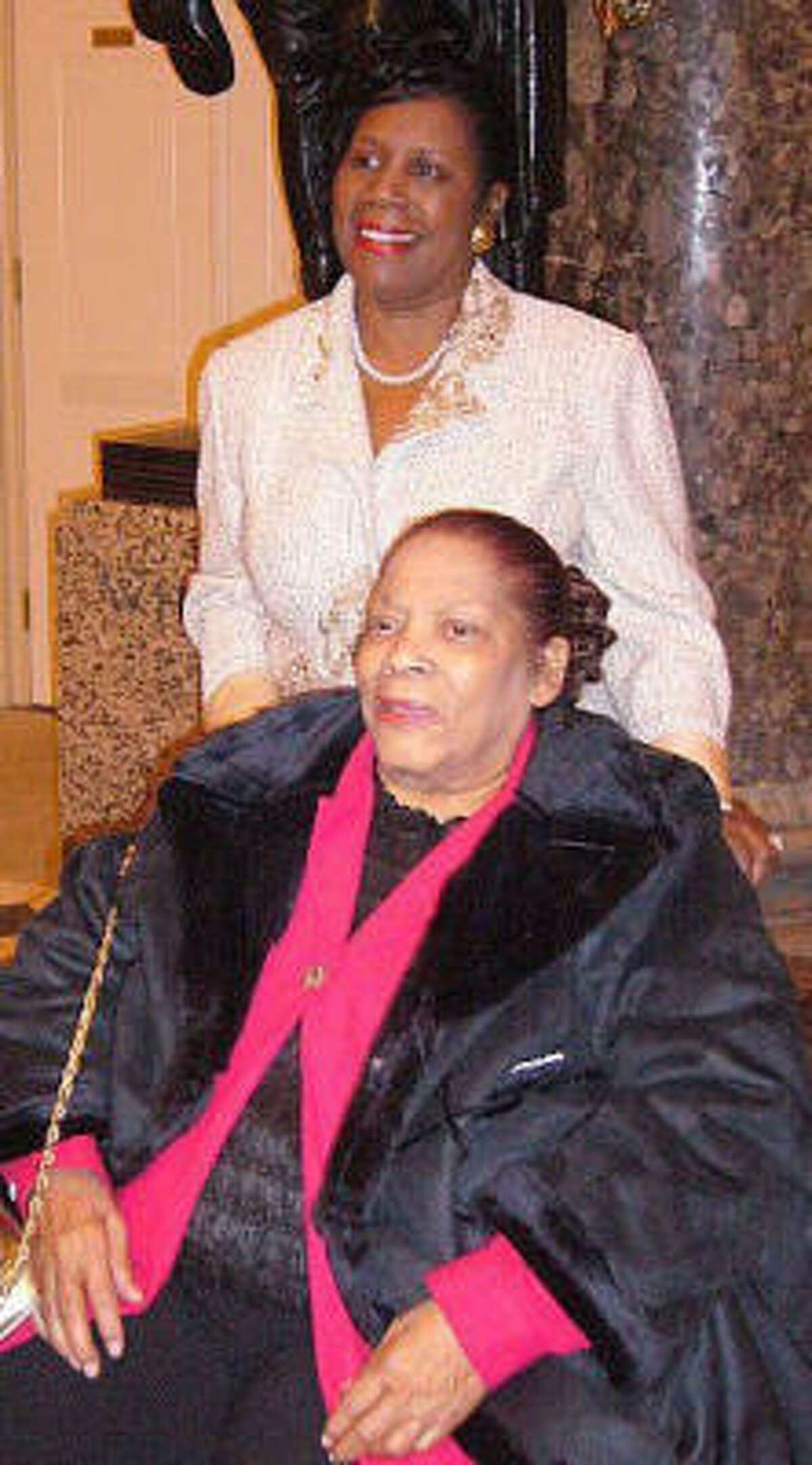 Ivalita Jackson visited the U.S. Capitol in Washington with her daughter, Rep. Sheila Jackson Lee, of Houston.