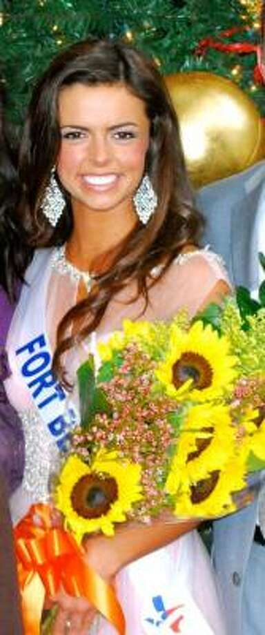 COURTESY PHOTO TOP CHOICE: Logan Lester, a junior at Lamar Consolidated High School, was named Miss Congeniality at the Miss Teen Texas USA pageant.