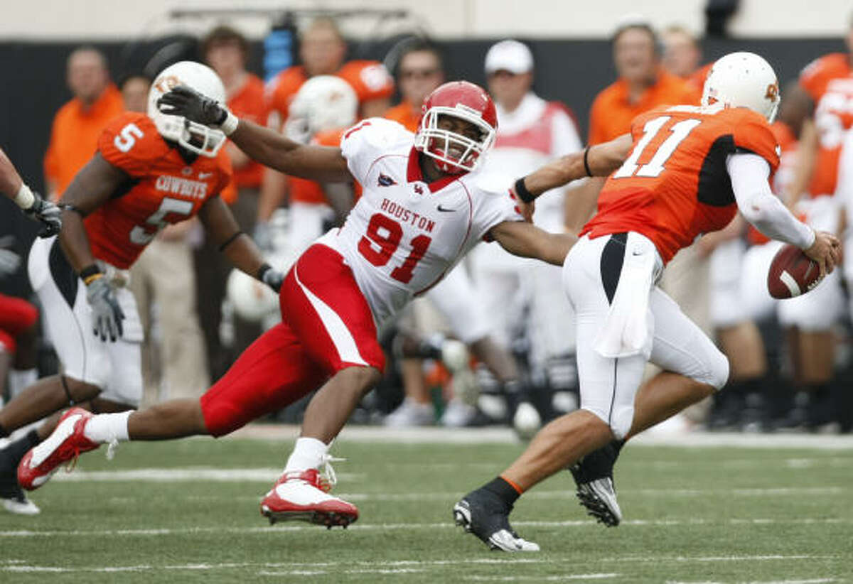 UH believes it has the credentials to join Oklahoma State, a team UH beat last season, in the Big 12.